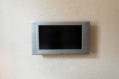 The tv unit attached to the wall. Tv Unit attached to the wall Royalty Free Stock Photo