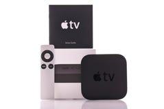 TV van de appel Stock Foto