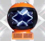 TV van de robot royalty-vrije stock afbeeldingen