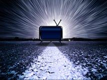 TV van het drama Stock Fotografie