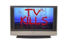 TV van het plasma royalty-vrije stock fotografie