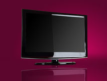 TV van het plasma/LCD Royalty-vrije Stock Foto