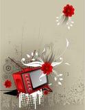 Tv vector illustration Royalty Free Stock Photo