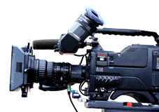 TV videocam Royalty Free Stock Photo