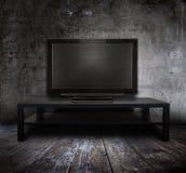 TV vieja Imagen de archivo libre de regalías
