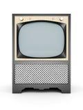 TV vieja Fotos de archivo