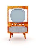TV vieja Imágenes de archivo libres de regalías