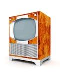 TV vieja Foto de archivo libre de regalías