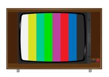 TV vieja Fotos de archivo libres de regalías