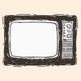 TV vieja Foto de archivo