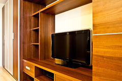 TV and wardrobes Royalty Free Stock Photos