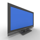 TV on white background Royalty Free Stock Images