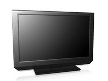 TV on a white background Royalty Free Stock Photography
