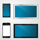 TV y móvil para el diseño Stock de ilustración