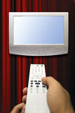 Tv zapping Royalty Free Stock Photography