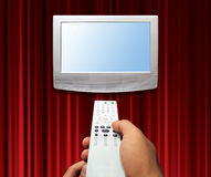 Tv zapping concept Stock Images