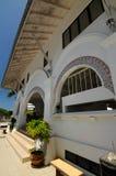 Tvagning av Abidin Mosque i Kuala Terengganu, Malaysia Fotografering för Bildbyråer