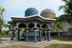 Tvagning av Sultan Abdul Samad Mosque (KLIA-moskén) Arkivbild