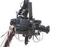 TVcamera van de studio Stock Foto's