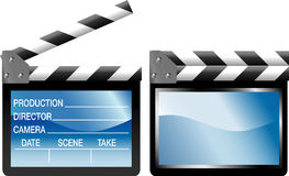Tvclapboard Royalty Free Stock Image