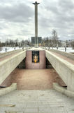 Tver. Вечный огонь Стоковые Фото