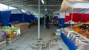 Tver, Россия - 7-ое октября 2015: Рынок в Tver Стоковое Изображение