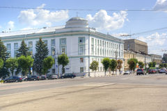 Tver. Administration building in Tver region Stock Images