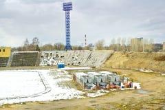 Tver'. Centrale dello stadio Fotografie Stock Libere da Diritti