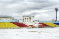 Tver'. Chimico dello stadio Immagine Stock Libera da Diritti