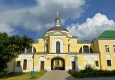 Tver, Christmas convent Stock Photo
