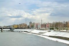 Tver. Cityscape stock photography