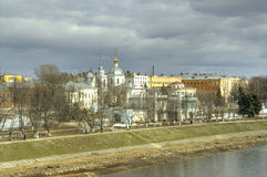 Tver. Cityscape royalty free stock photography