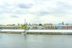 Tver Cityscape royalty-vrije stock afbeelding