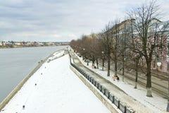 Tver. Cityscape stock photos