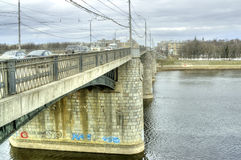 Tver. Cityscape Royalty Free Stock Photo