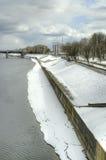 Tver. Cityscape Stock Photo
