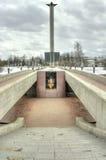 Tver. Fuego eterno Fotos de archivo