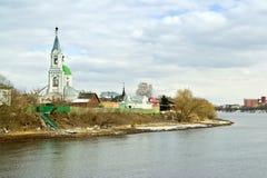 Tver. Het klooster van Catherine. Kerk van Catherine stock foto