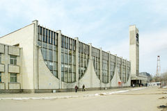 Tver. Railway station Royalty Free Stock Image