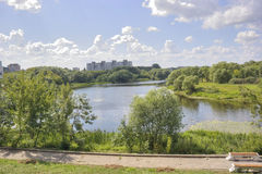 Tver. River Tmaka Royalty Free Stock Image