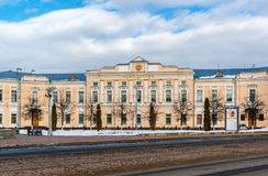 Tver Rosja, Luty, - 27 2016 Administracja miasto Tver, budujący w xviii wiek Obraz Royalty Free