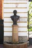 Tver, Rusia - pueden 07 2017 El monumento al cantante famoso Sergey Lemeshev Imágenes de archivo libres de regalías
