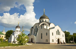 Tver, Russia, Christmas convent Stock Image