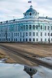 Tver, Russia - February 27. 2016.  The building of Tver region government Stock Photos