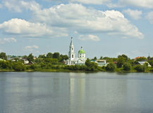 Tver, Saint Catherine convent Stock Photography