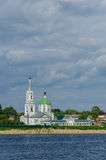 Tver. St. Catherine's female monastery royalty free stock image