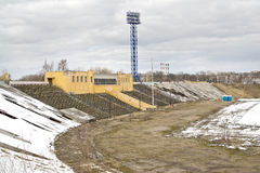 Tver. Stadium Central royalty free stock photography