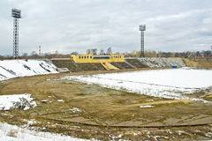 Tver. Stadium centrala Zdjęcie Royalty Free