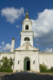 Tver, White Trinity church Stock Photography
