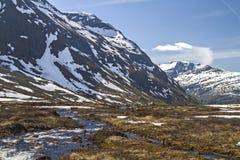Tverrfjellet Stock Photo